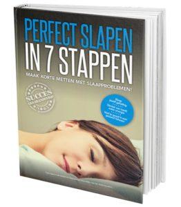 Boek van perfect slapen in 7 stappen